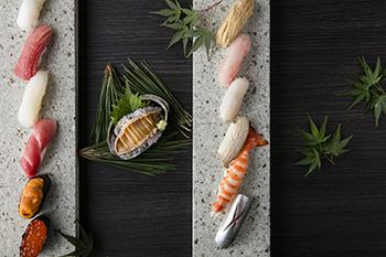 花火プラン さくら寿司カウンター